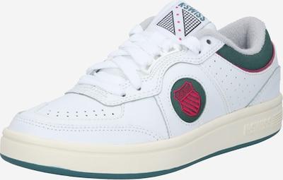 K-SWISS Sneaker 'Topspin' in beige / grasgrün / grenadine / weiß, Produktansicht