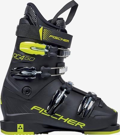 FISCHER Skischuhe 'RC4 60 JR' in gelb / schwarz, Produktansicht