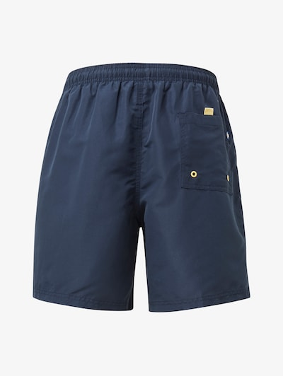 TOM TAILOR Swimming shorts in navy / yellow, Item view