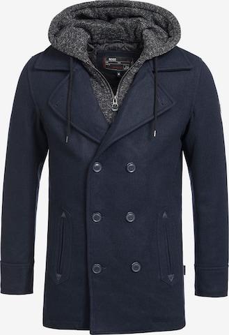 Manteau d'hiver ' Cliff Jacke ' INDICODE JEANS en bleu