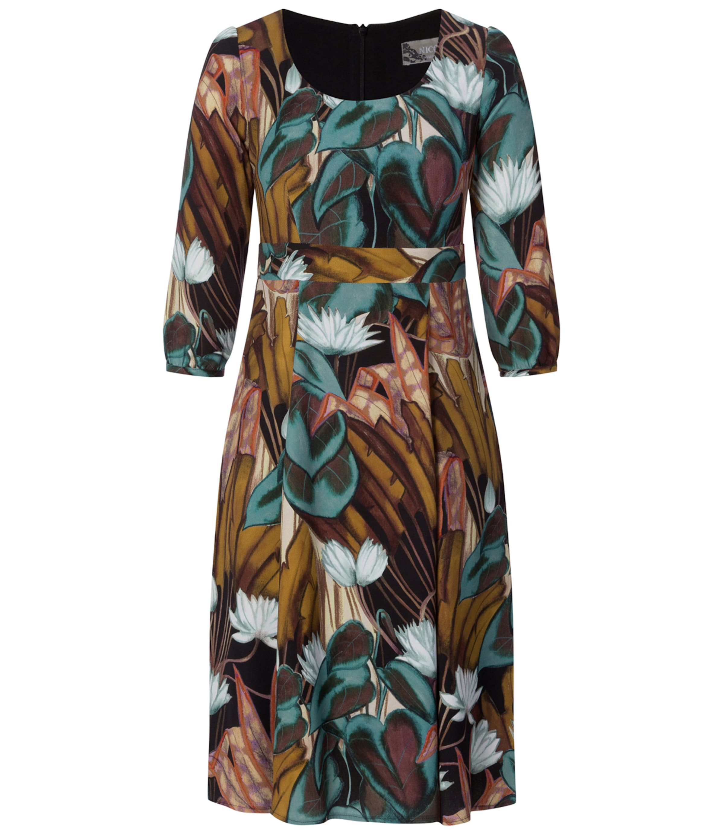 Kleid Nicowa Nicowa In MischfarbenSchwarz MischfarbenSchwarz In Nicowa Kleid 0wNm8n