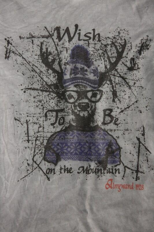 Almgwand Trachtenshirt im Used Look