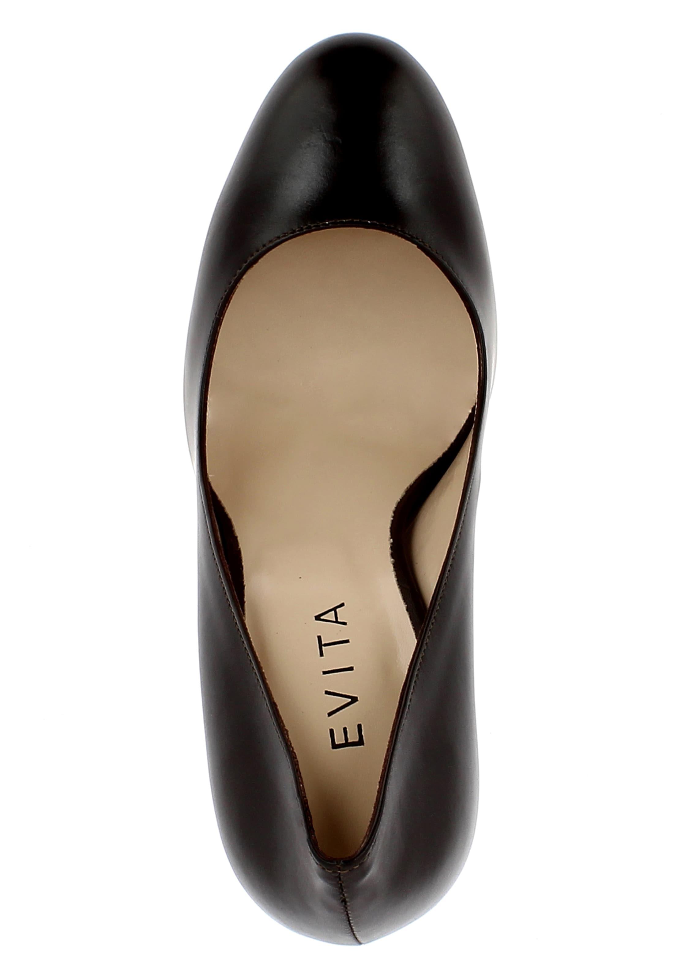 Evita Evita Escarpins Marron En Châtaigne Escarpins f6ybgY7