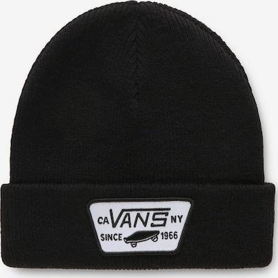VANS Beanie »MILFORD BEANIE BOYS« in schwarz / weiß, Produktansicht