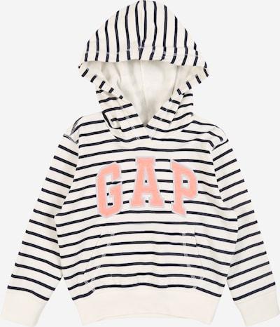 GAP Sweat-shirt en bleu marine / blanc, Vue avec produit