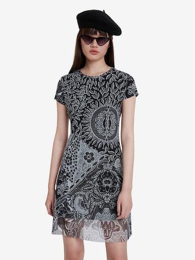 Desigual Letní šaty 'PARIS' - šedá / černá, Model/ka