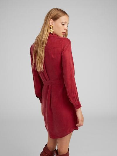 Palaidinės tipo suknelė 'Farha' iš EDITED , spalva - raudona / vyšninė spalva: Vaizdas iš galinės pusės