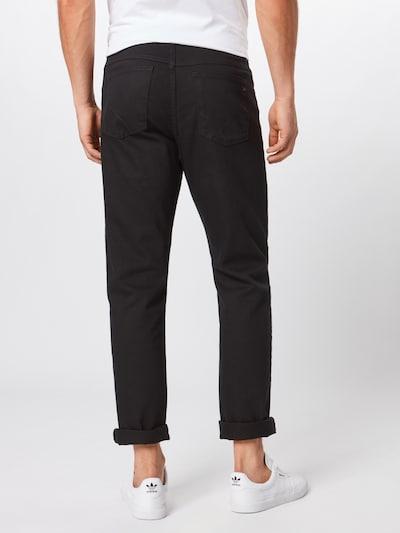 BRAX Jeans 'Cooper' in black denim: Rückansicht