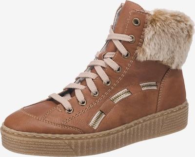 RIEKER Sneakers in beige / braun / honig, Produktansicht