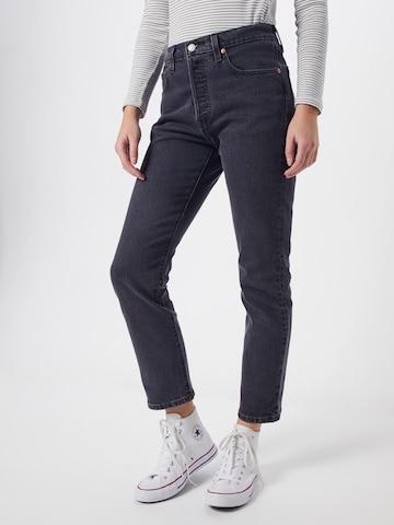 LEVI'S Jeans '501 CROP' in Grau