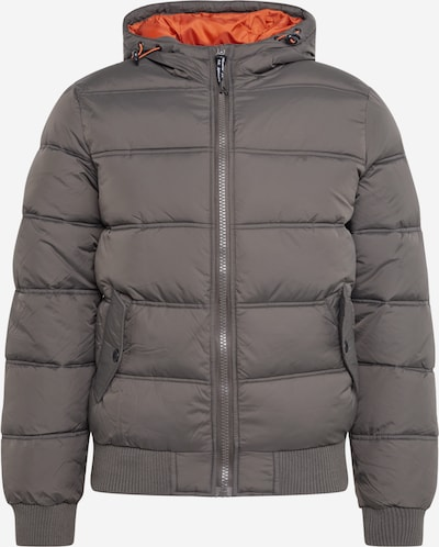INDICODE JEANS Winter jacket 'Adrian' in Anthracite, Item view