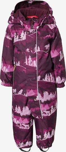 Reima Schneeanzug 'Puhuri' in lila / pastelllila / dunkellila, Produktansicht