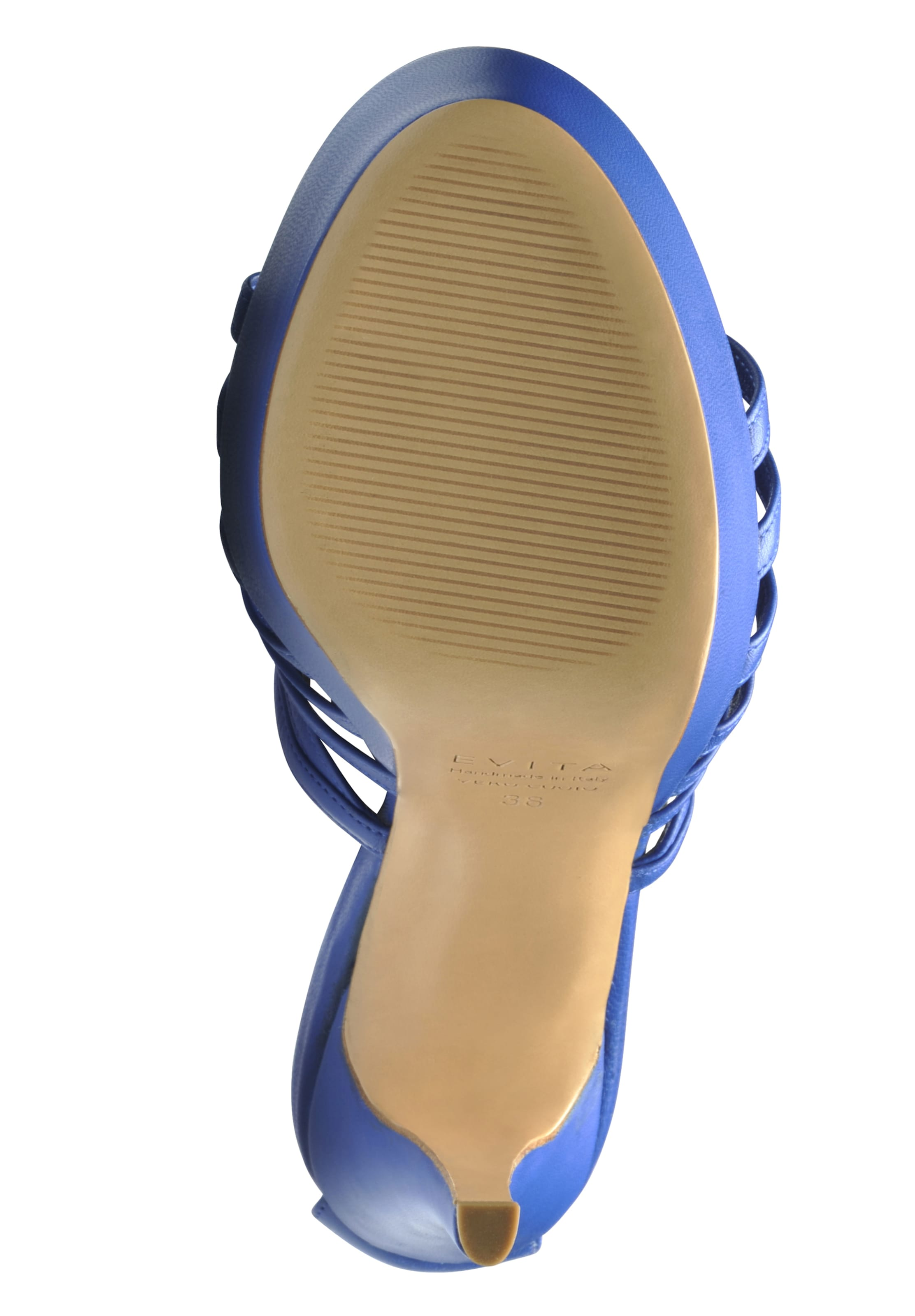 Bleu Evita À Lanières En Sandales TJcKlF13
