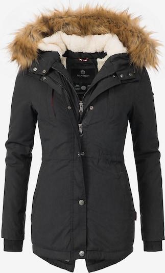 MARIKOO Wintermantel 'Akira' in schwarz, Produktansicht