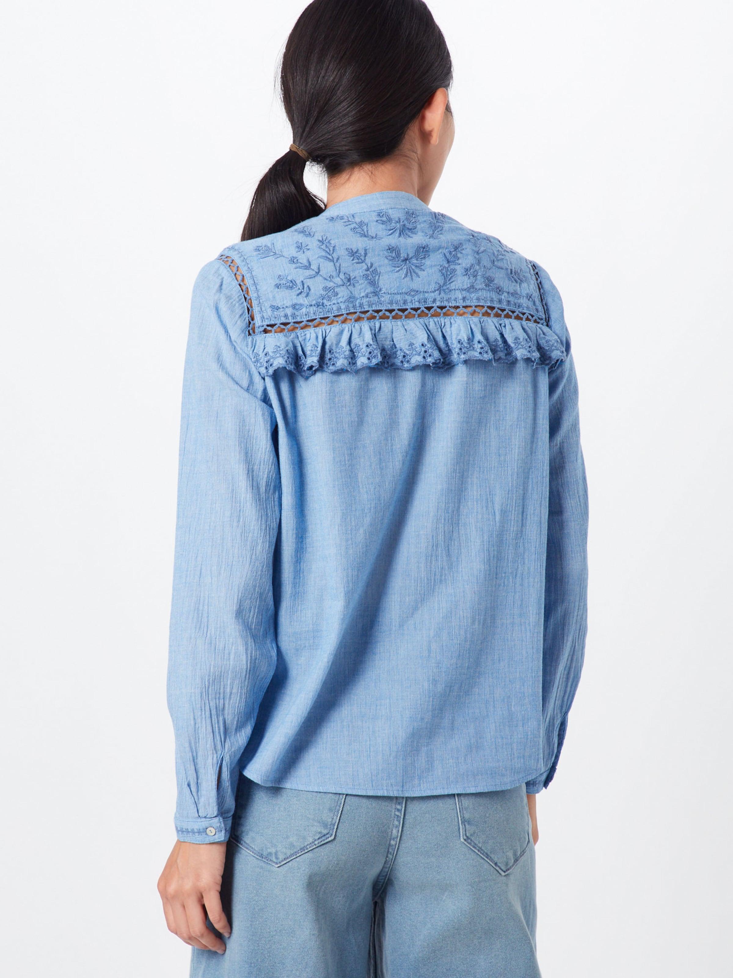 Pepe Blau In Bluse 'holly' Jeans WxordBeQC