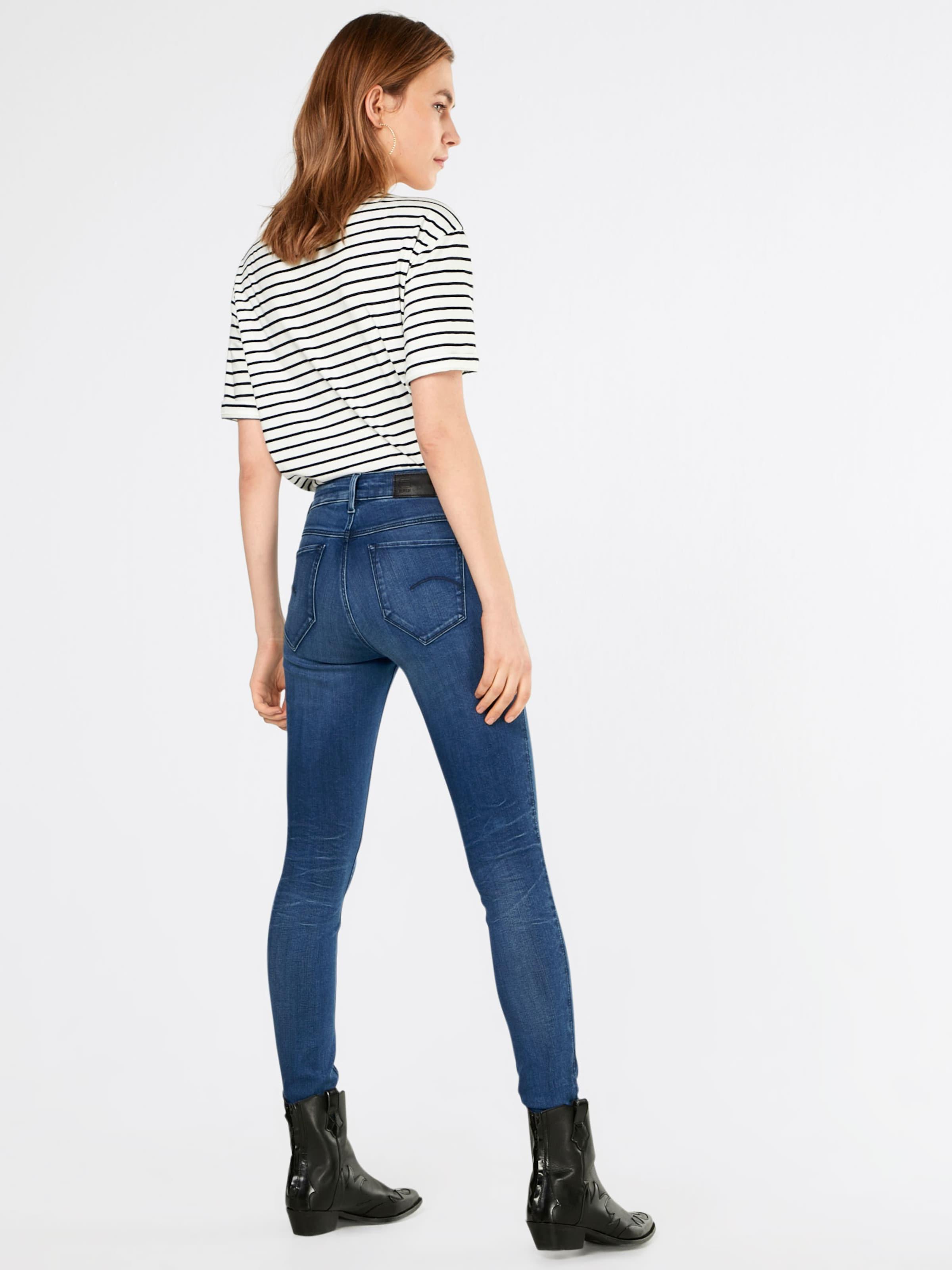 Verkauf Footlocker G-STAR RAW Skinny Jeans 'Shape High' Kosten Empfehlen Rabatt 0YTmVP5t0