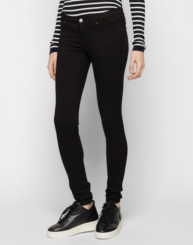 Dr. Denim 'Kissy' Jeggings in schwarz, Modelansicht