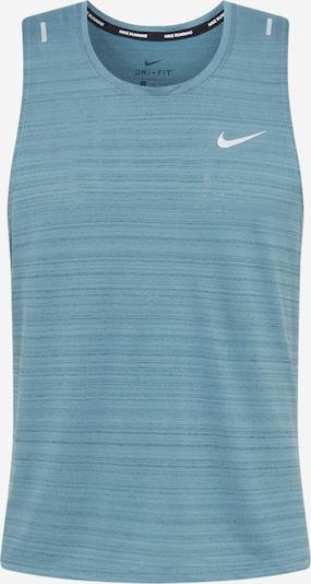 NIKE Functioneel shirt 'Miler' in de kleur Smoky blue, Productweergave