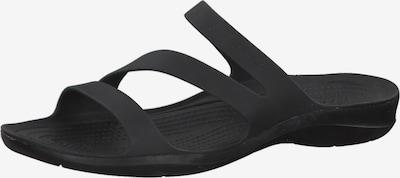 Crocs Pantolette 'Swiftwater' in schwarz, Produktansicht
