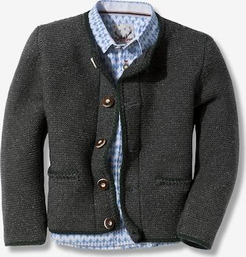 STOCKERPOINT Knit Cardigan 'Malo' in Grey