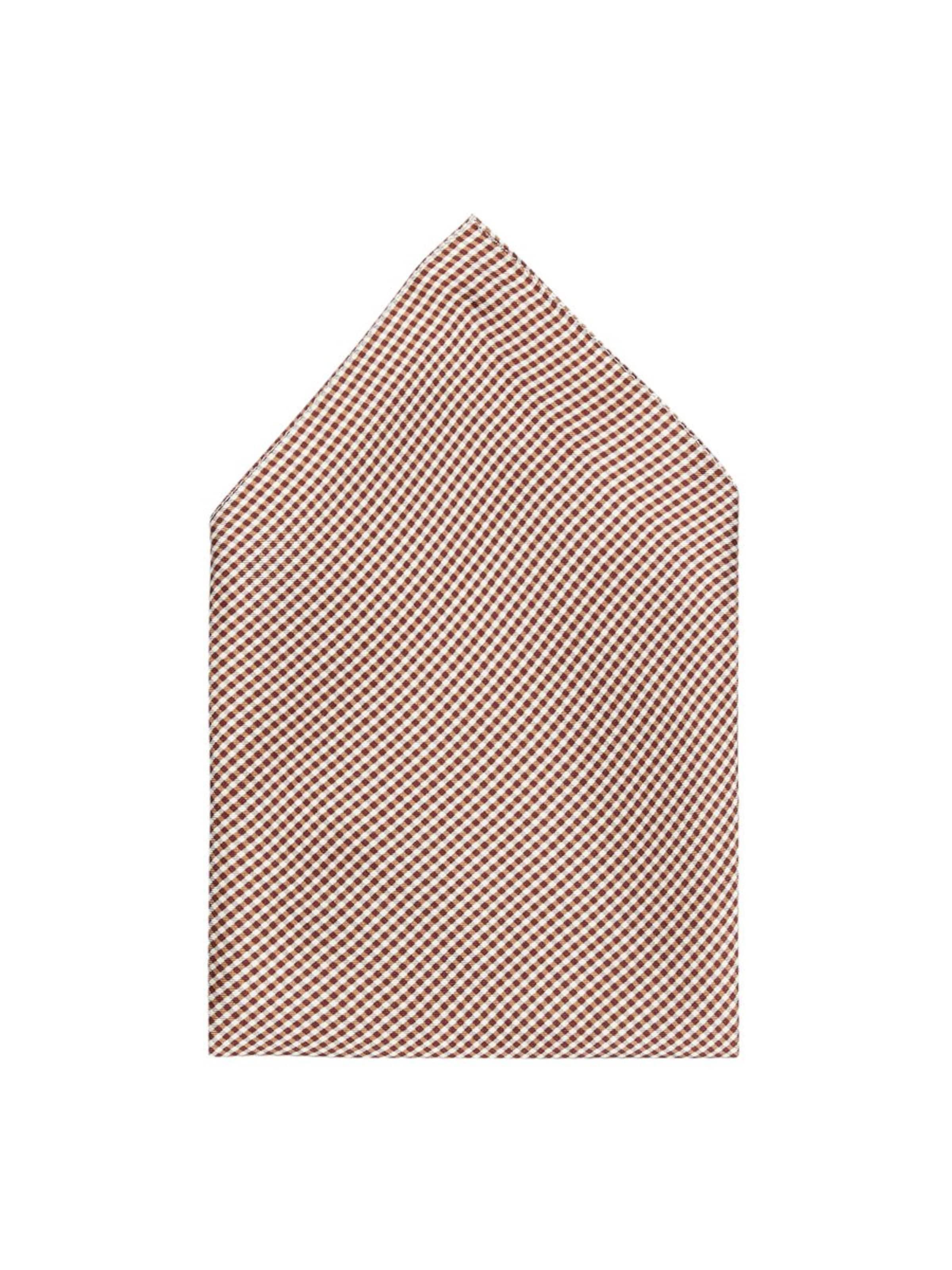 Square' Taschentuch J lindeberg '28 HellbeigeWeinrot Weiß In otQBrshdCx