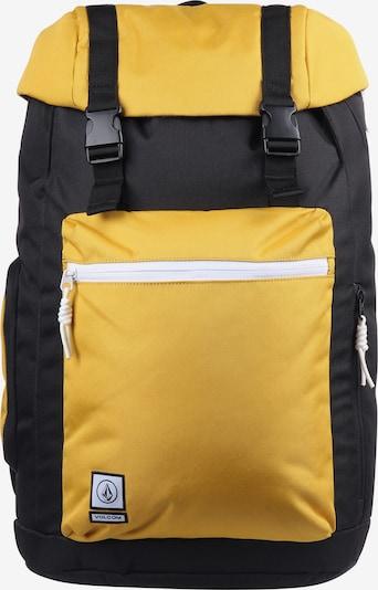 Volcom Rucksack 'Ruckfold' in gelb / schwarz, Produktansicht