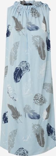 ZABAIONE Obleka 'Hanna' | svetlo modra / temno modra / siva barva, Prikaz izdelka