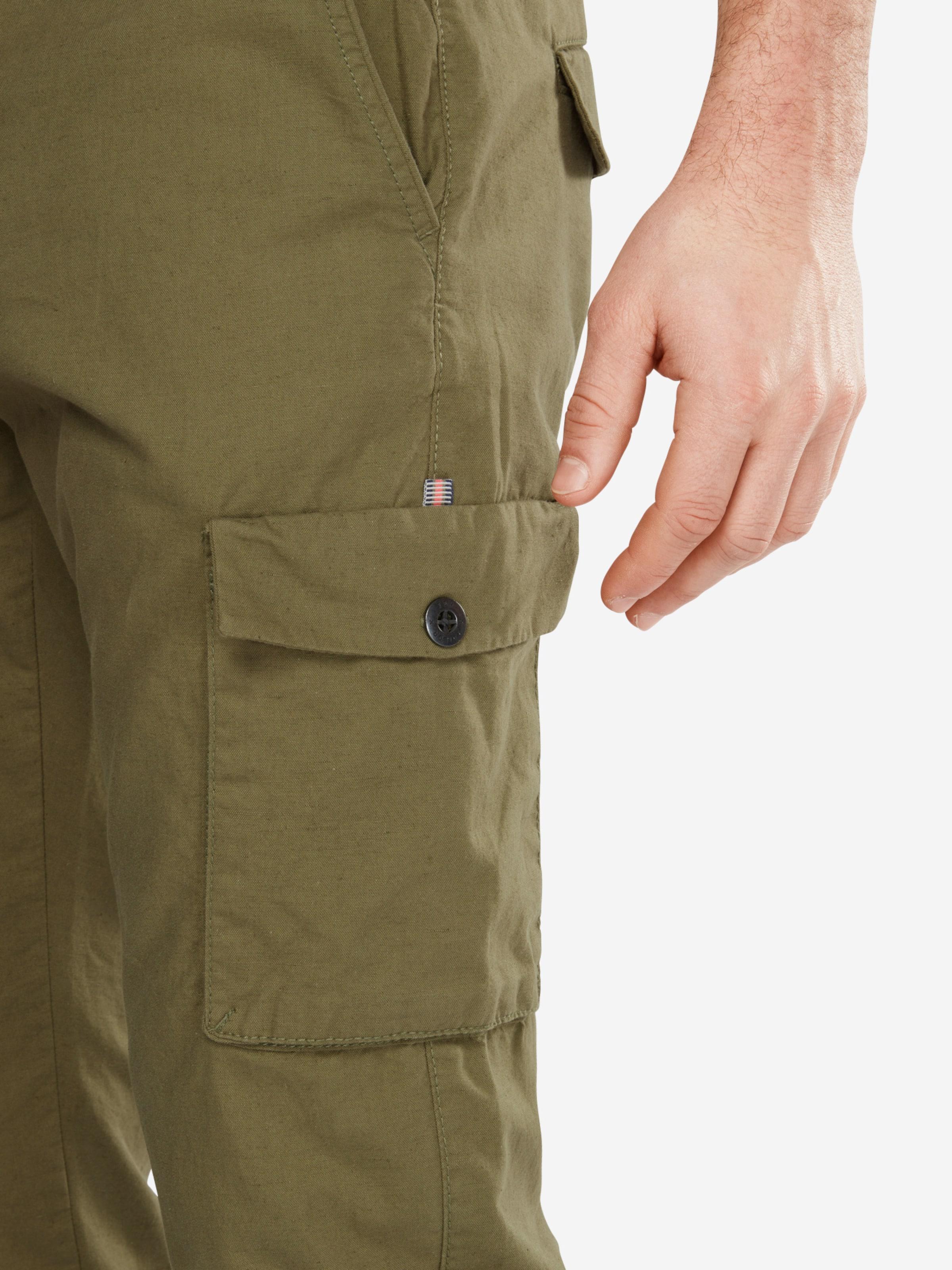 TOM TAILOR Cargohose mit Leinen-Anteil Billige Sammlungen Outlet Mode-Stil Auslauf Zum Verkauf Günstigen Preis aO6lNCPi