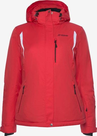 Maier Sports Skijacke in rot / weiß, Produktansicht