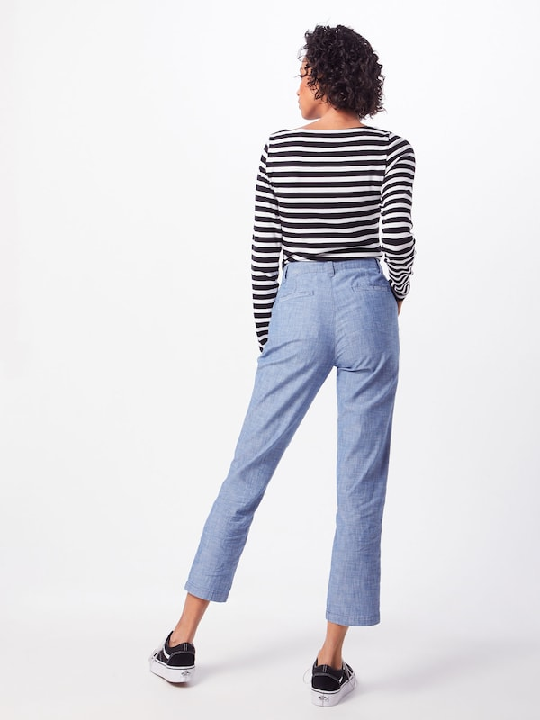Khaki Pantalon girlfriend Indigo 'v En Chambray' Gap PkXTuOwZi