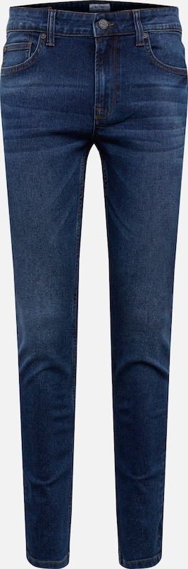 Only & Sons Jeans '5148' in de kleur Blauw denim, Productweergave