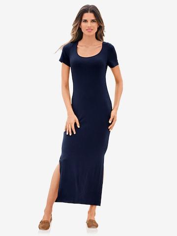 heine Jerseykleid in Blau