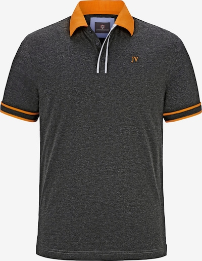 Jan Vanderstorm T-Shirt 'Isfried' en anthracite / orange, Vue avec produit