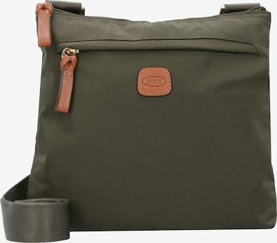 Bric's Umhängetasche X-Bag 26 cm in oliv: Frontalansicht