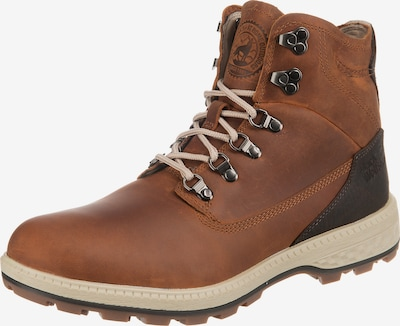 JACK WOLFSKIN Boots 'JACK MID M' in braun / dunkelbraun, Produktansicht