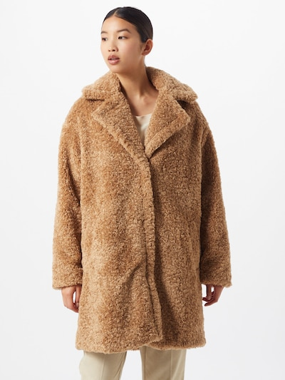Herrlicher Mantel 'Tabby' in camel, Modelansicht