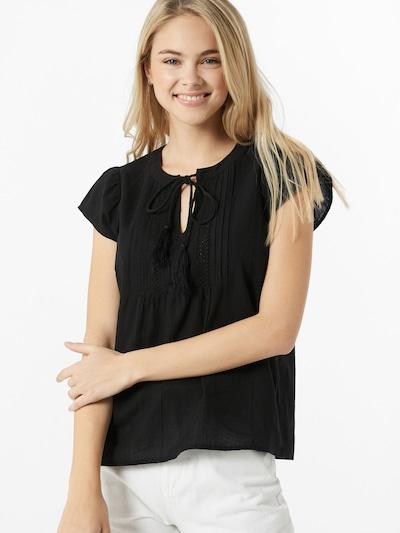 VERO MODA Shirt 'MUSTHAVE' in schwarz: Frontalansicht