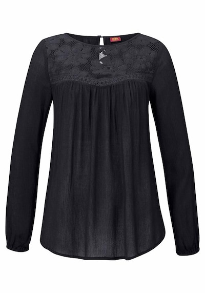 BUFFALO Strandbluse 'London' in schwarz, Produktansicht