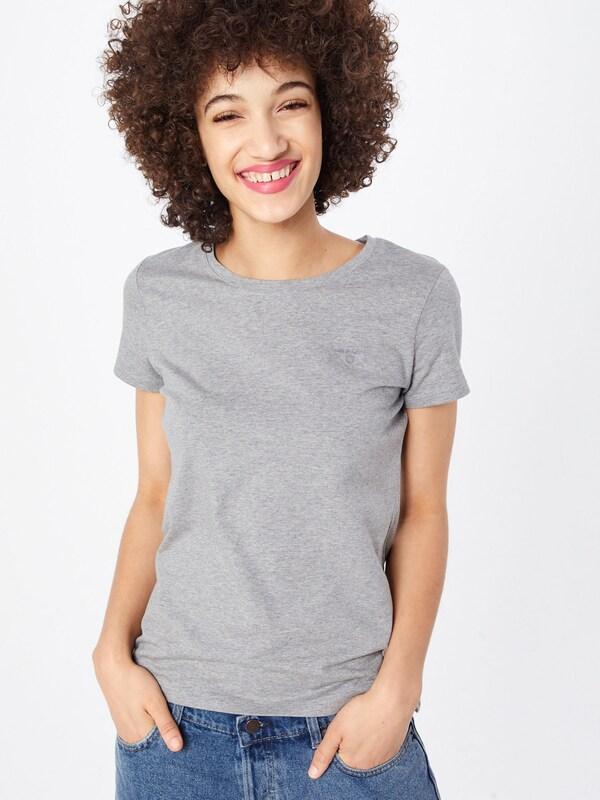 T Chiné En Gris 'ela' shirt Gant rCeoxBd