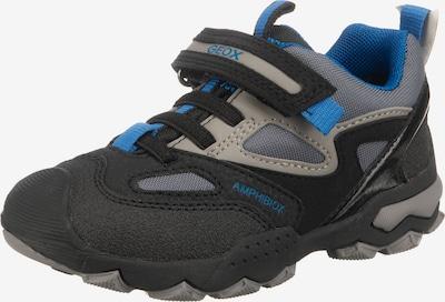 GEOX Sneaker in himmelblau / hellgrau / schwarz, Produktansicht