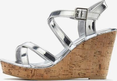 LASCANA Sandale in silber, Produktansicht