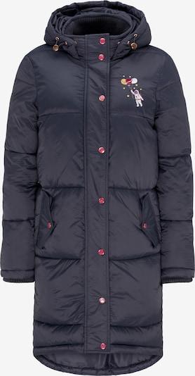 MYMO Manteau d'hiver en bleu nuit, Vue avec produit