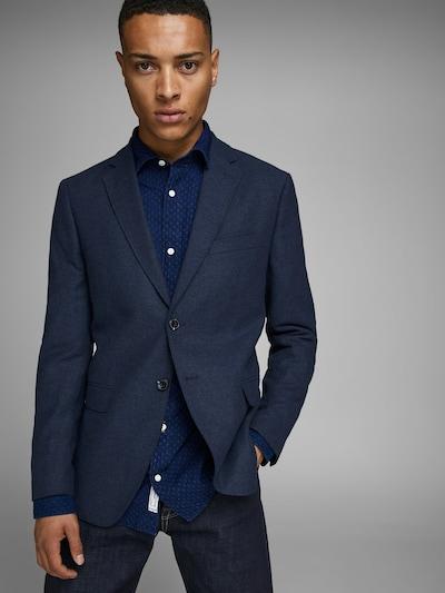 Dalykinio stiliaus švarkas iš JACK & JONES , spalva - nakties mėlyna: Vaizdas iš priekio