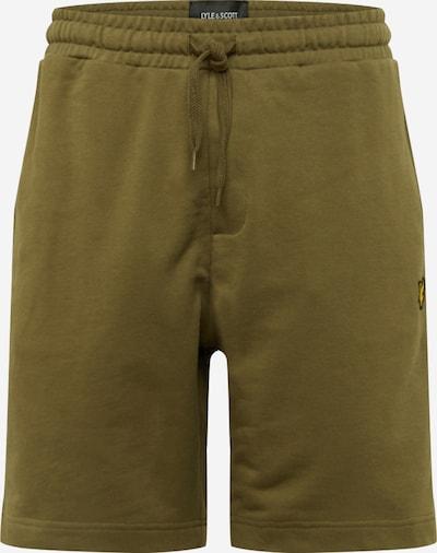 Pantaloni Lyle & Scott pe verde închis, Vizualizare produs