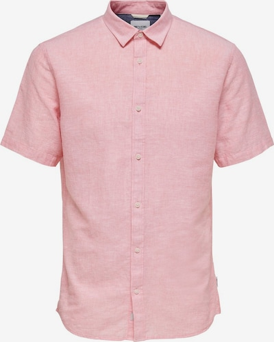 Only & Sons Hemd in rotmeliert, Produktansicht