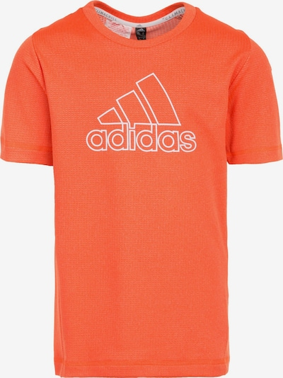 ADIDAS PERFORMANCE Trainingsshirt 'Chill' in dunkelorange / weiß, Produktansicht