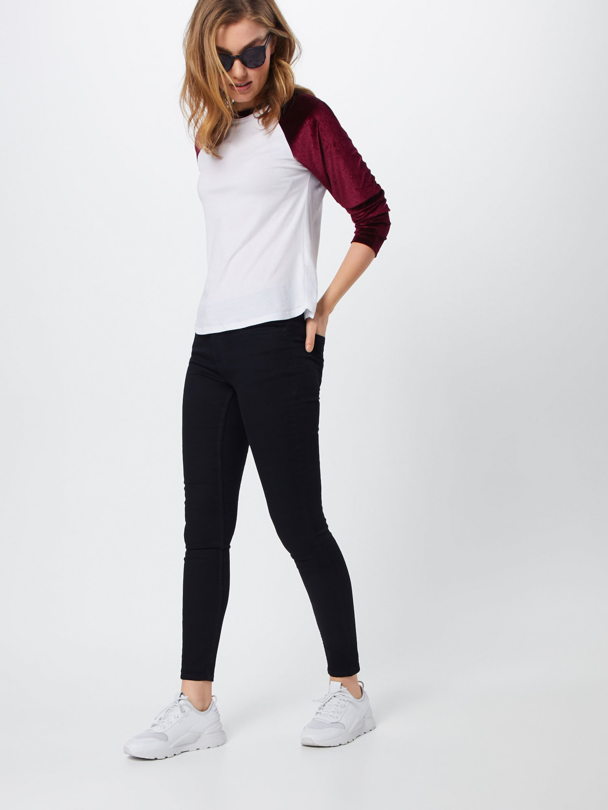 Black Jacqueline De Denim Jeans Yong In Pw8nOk0
