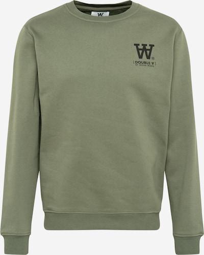 WOOD WOOD Sweatshirt 'Tye' in khaki / schwarz, Produktansicht