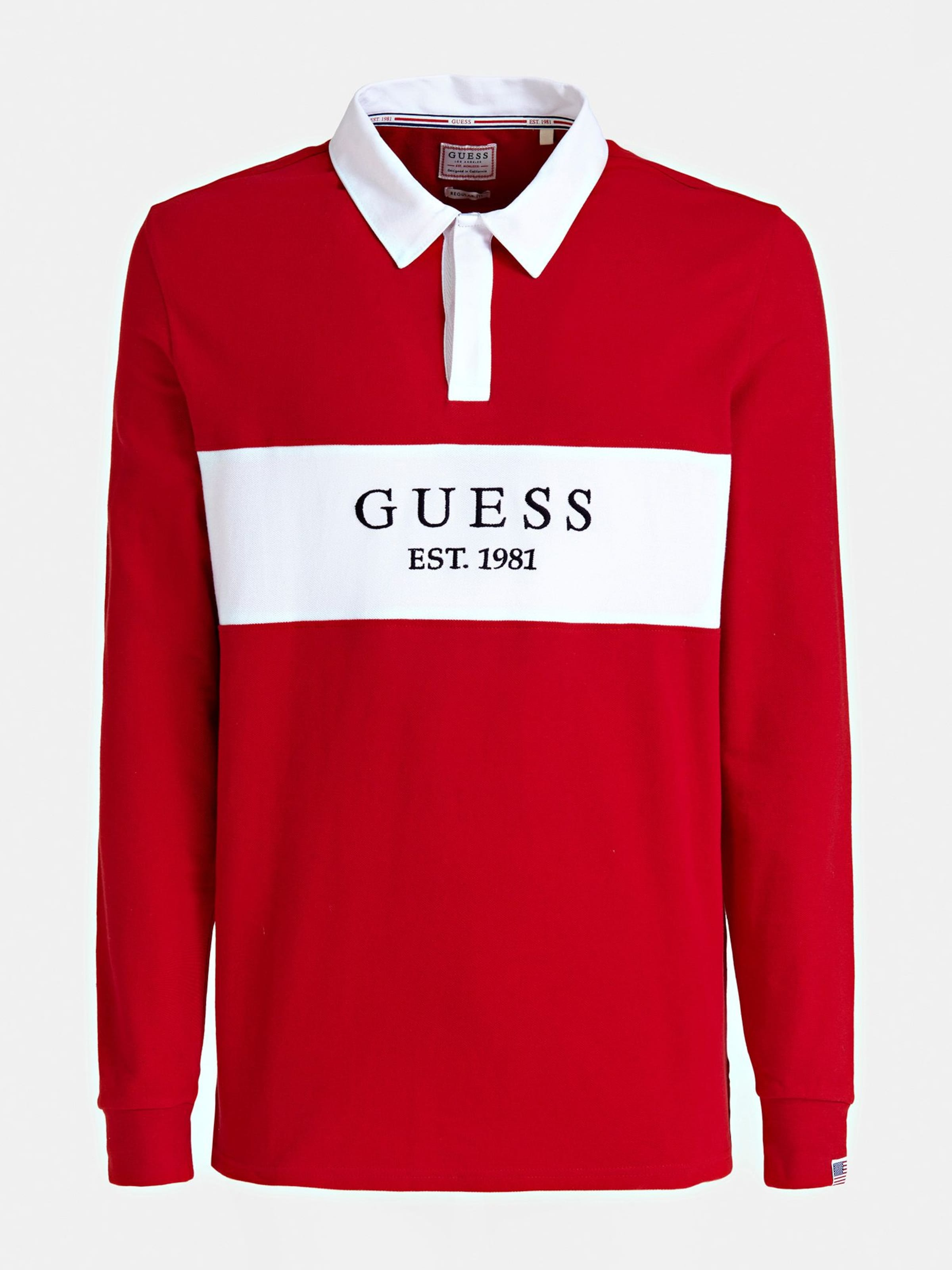Dunkelrot Poloshirt Guess Guess In In Guess Poloshirt Poloshirt Dunkelrot Dunkelrot Poloshirt Guess In wOkP08nX