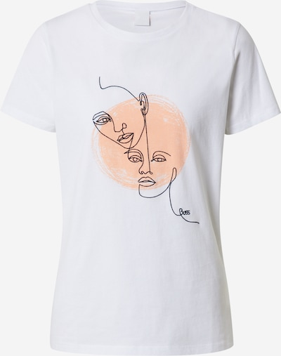 BOSS Tričko 'Tevision' - bílá, Produkt